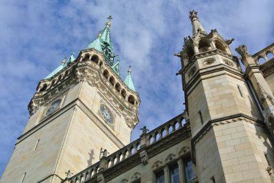 Rathaus Braunschweig mit Rathausturm