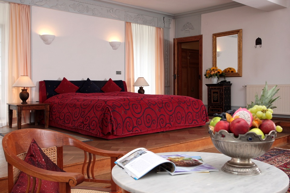Edesheim : Hotel Schloss Edesheim, Zimmer Maximiliansuite