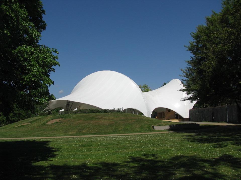 Kuppelzelt im Amphitheater Hanau
