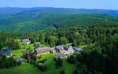 Hotel Jagdhaus Wiese in Schmallenberg: Luftfoto