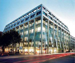 Architektur in Berlin am Kurfürstendamm - das Berliner Weltstadthaus