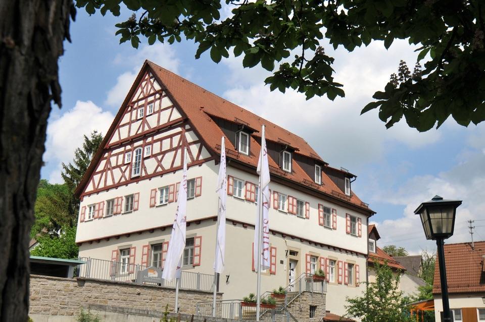 Mulfingen - Ailringen: Restaurant Hotel-Restaurant Altes Amtshaus, Aussenansicht