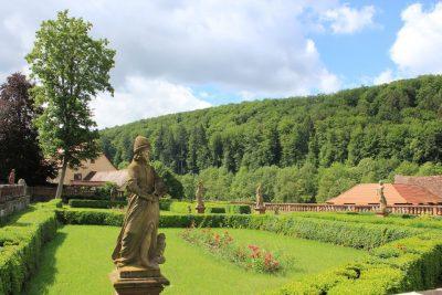 Klostergarten im Kloster Bronnbach