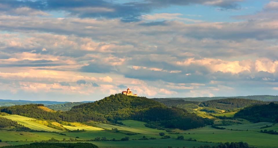 Romantisches Burgenland Drei Gleichen in Thüringen