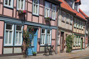 Fachwerkhäuser in Salzwedel in der Altmark