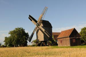 Windmühle in der Magdeburger Börde