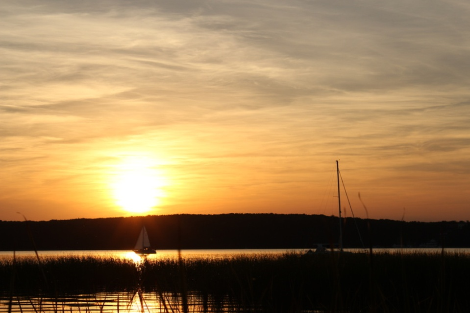 Abendsonne am Scharmützelsee