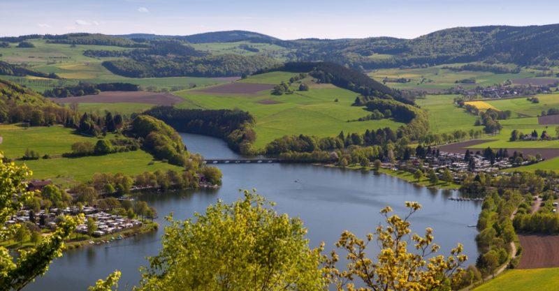 Heringhausen am Diemelsee im Sommer