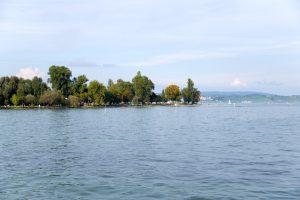 Strandbad bei Konstanz am Bodensee