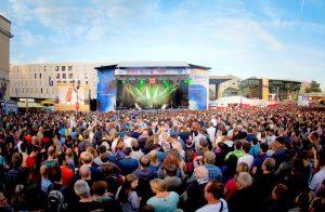 Open Air Konzert Schlossgrabenfest Darmstadt