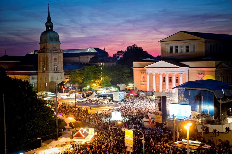 Open Air Schlossgrabenfest Darmstadt