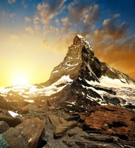Das Matterhorn, Kanton Wallis