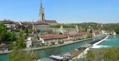 Aareufer in Bern