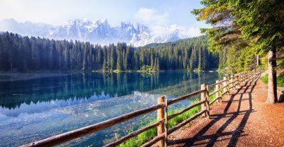 Wanderweg am Karer See