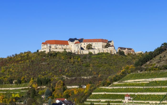 Schloss Neuenburg, Freyburg im Weinbaugebiet Saale-Unstrut