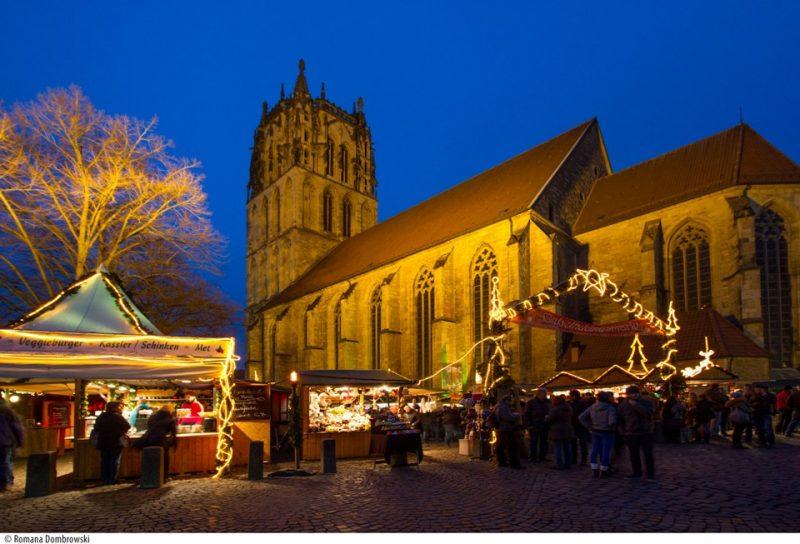 Giebelhueskesmarkt auf dem Weihnachtsmarkt Münster