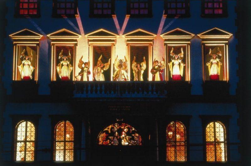 Das Engelesspiel auf dem Augsburger Christkindlesmarkt