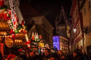 Weihnachtsmarkt Blauer Turm Bad Wimpfen