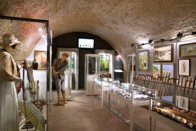 Exponate im Golfmuseum Regensburg