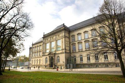 Museum für Kunst und Gewerbe Außenansicht