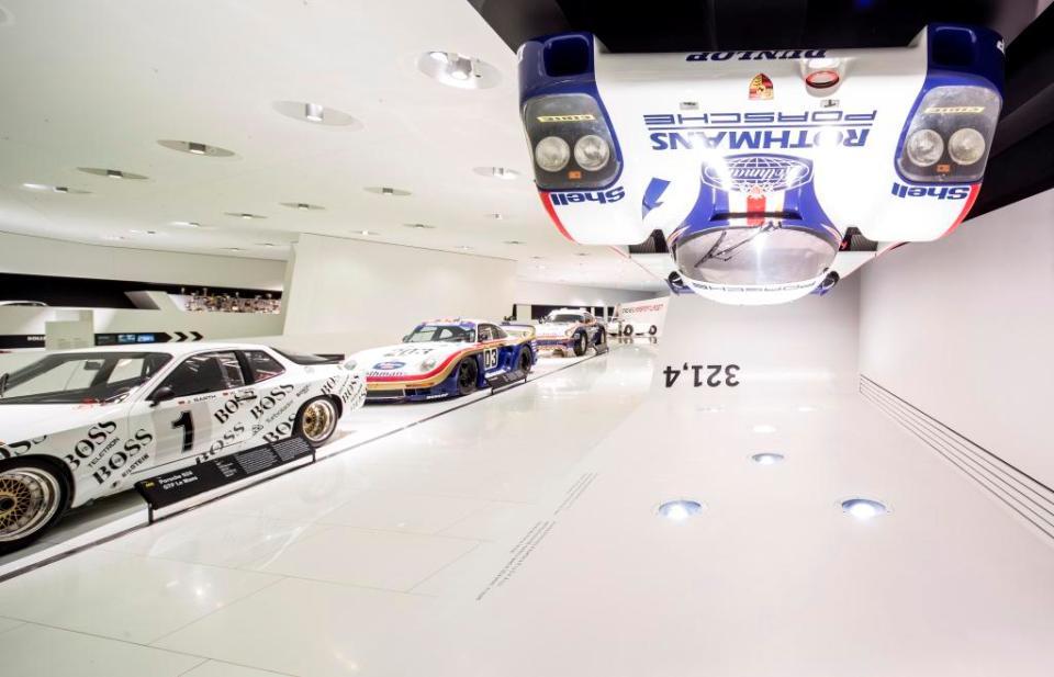 Ausstellung im Porsche Museum