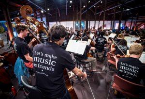Probe des Musikorchesters