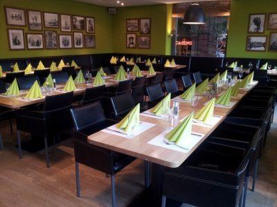 Café Restaurant Übersee Bremen Tische