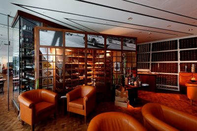 "Restaurant im Porsche Museum "" Christophorus """