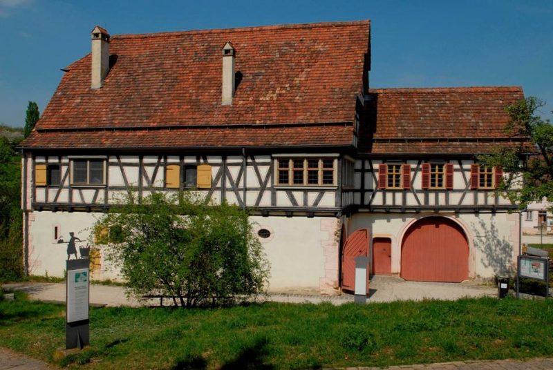 Freilichtmuseum Beuren altes Bauernhaus, Landhaus Engelberg