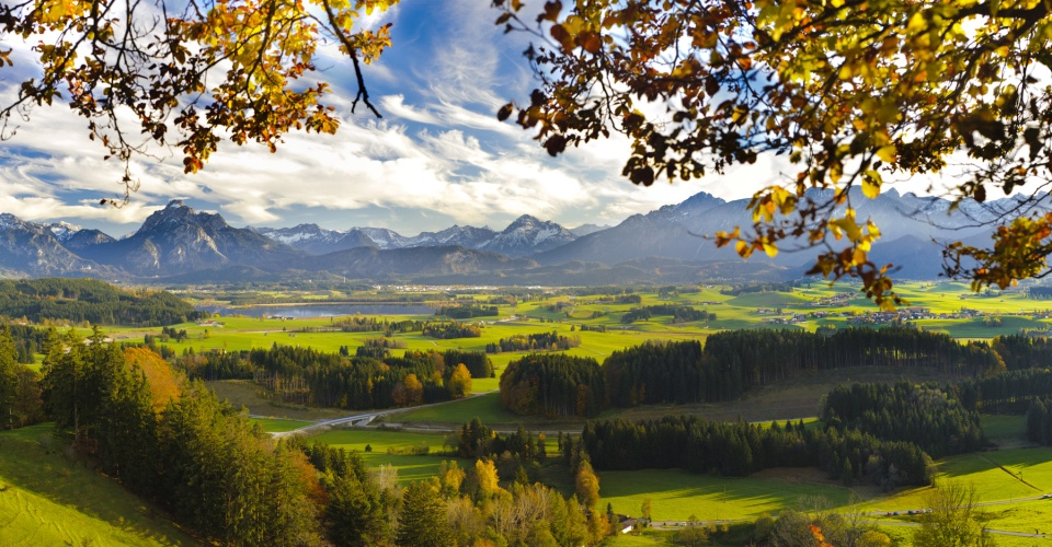 Herbsttimmung am Hopfensee