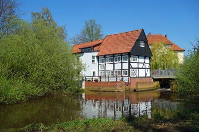 Historische Wassermühle bei Vechta