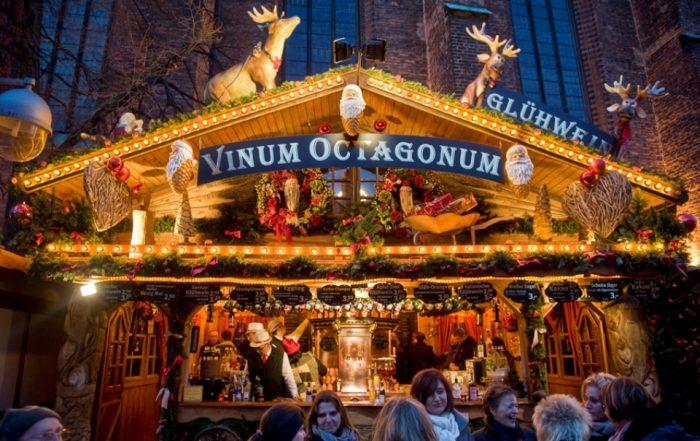 Stand aif dem Weihnachtsmarkt Hannover