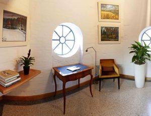 Das Schreibzimmer im ersten Stockwerk
