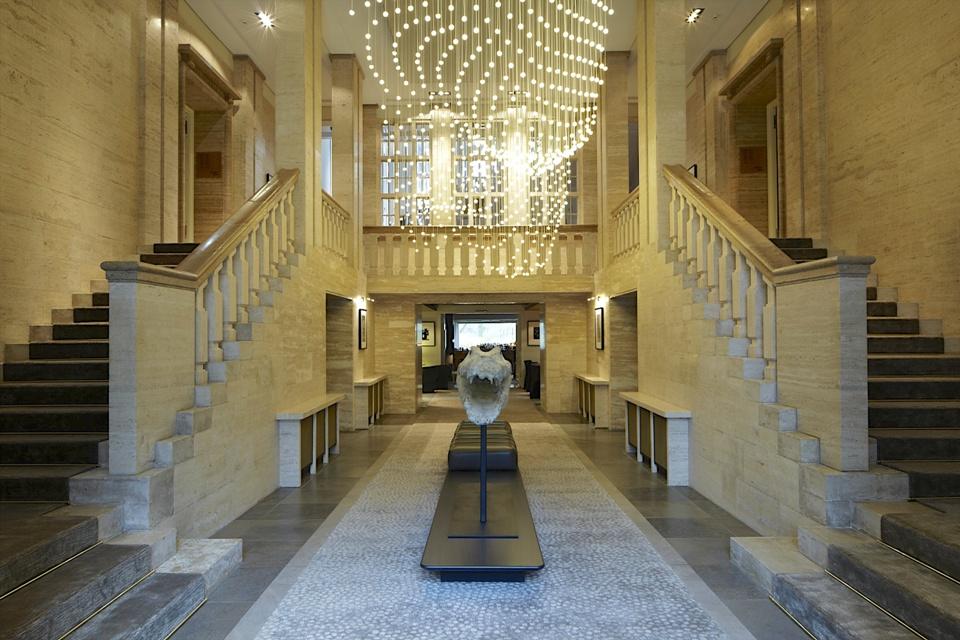 Eingangsbereich des Hotels © das Stue