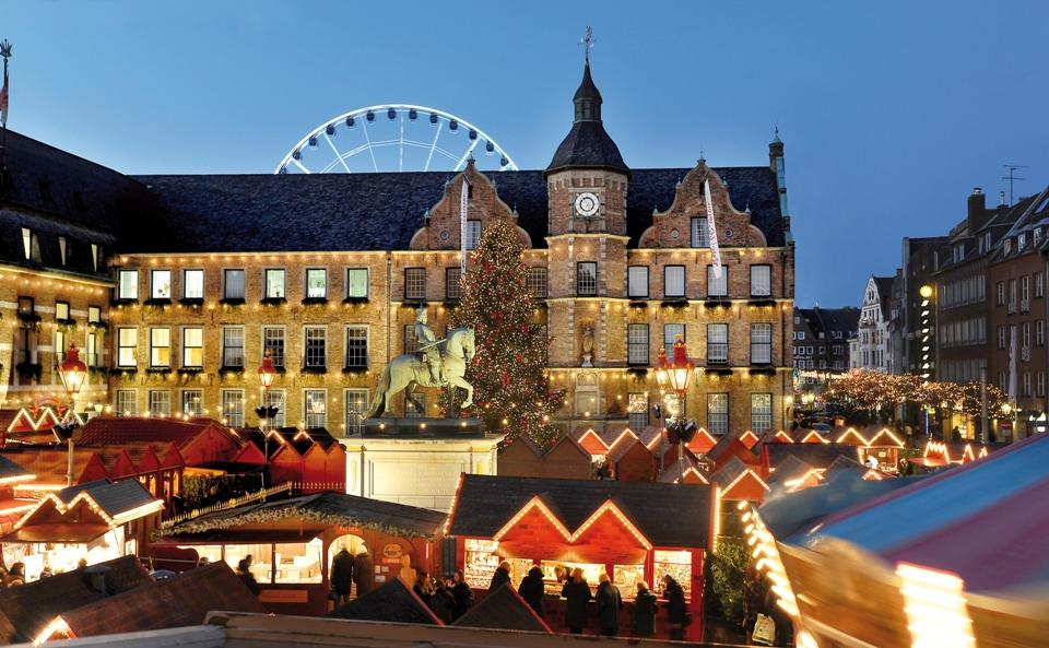 Weihnachtsmarkt Heilbronn.Düsseldorfer Weihnachtsmarkt Stimmungsvoll In Den Advent