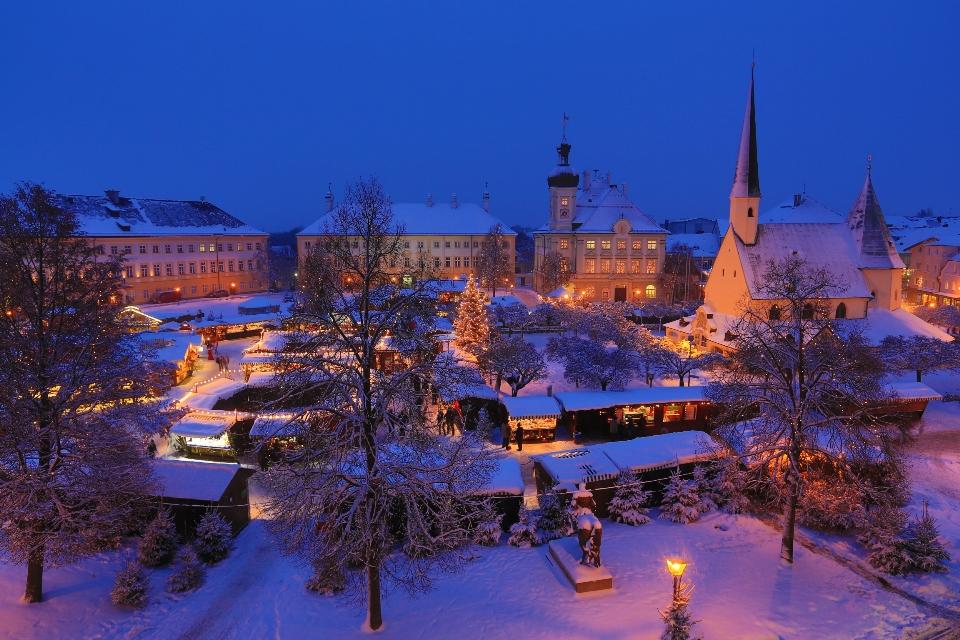 Weihnachtsmarkt H.Altöttinger Christkindlmarkt Die Schönste Zeit Im Herzen Bayerns
