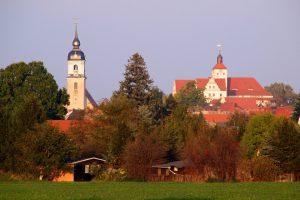 Schloss und Kirche in Sachsen-Anhalt