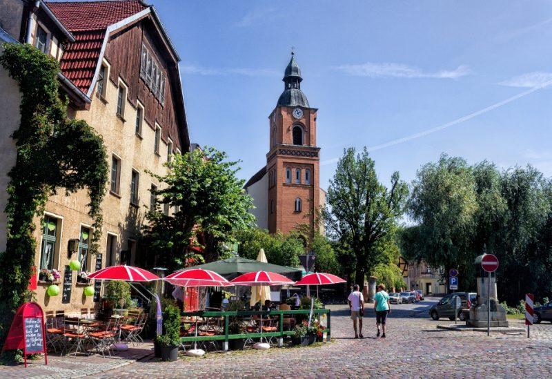 Marktplatz in Buckow