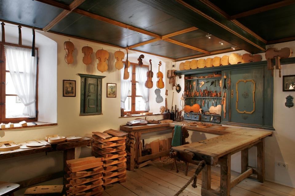 Das Geigenbaumuseum Innenansicht