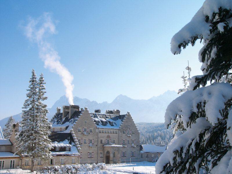 Das Kranzbach im Winter