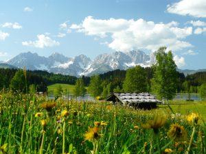 Kitzbühel im Tirol / Österreich