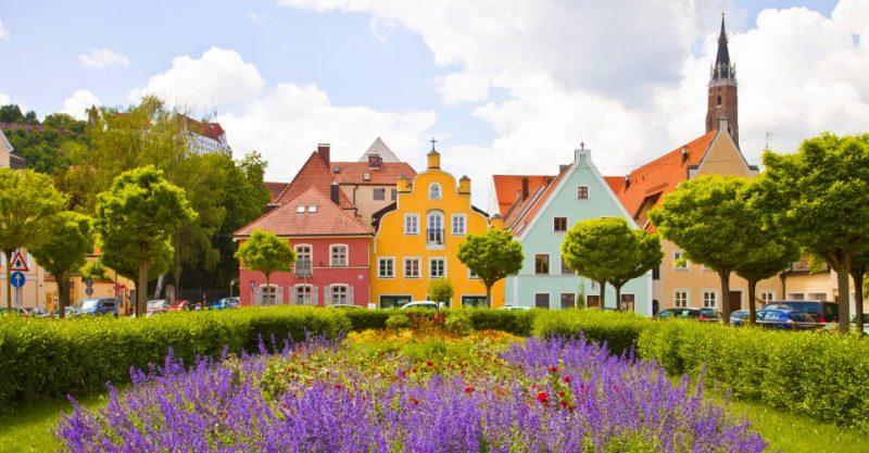 Frühling in Landshut