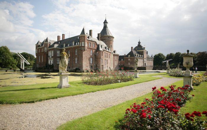 Schloss Anholt im Sommer, Münsterland