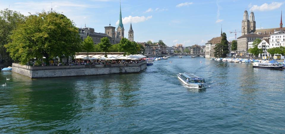 Seeufer in Zürich