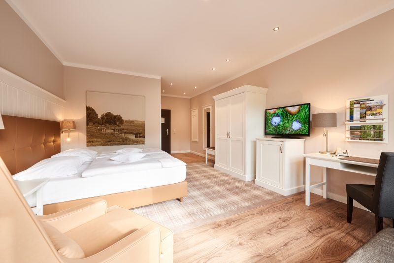 Hotel Munte am Stadtwald - Ringhotel - Deluxezimmer - Zimmerbeispiel 3