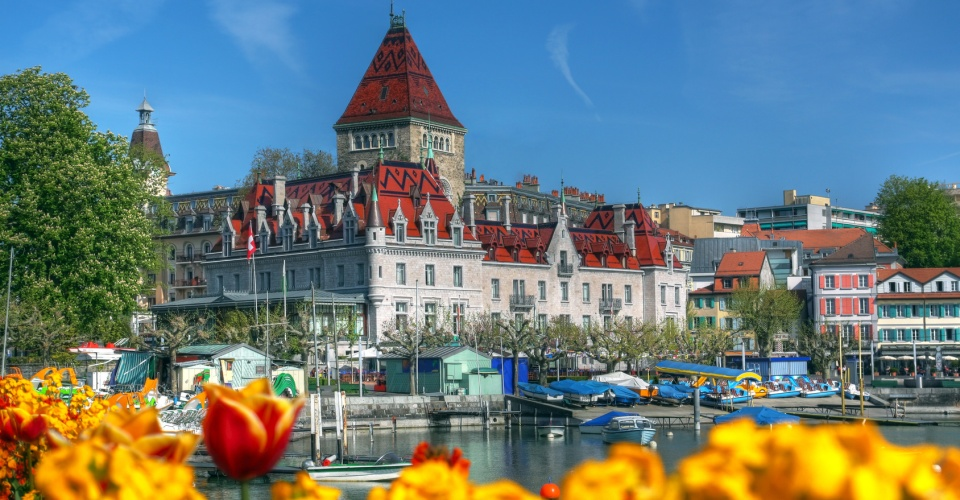 Chateau d'Ouchy, Lausanne