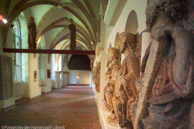 St Annen Museum - Kreuzgang