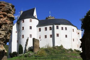 Burg Scharfenstein im Erzgebirge in Sachsen