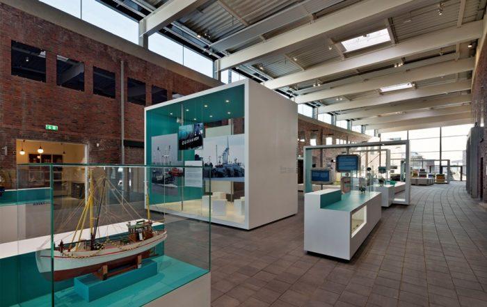 """Ohlroggehalle im Museum """"Windstärke 10"""" in Cuxhaven"""
