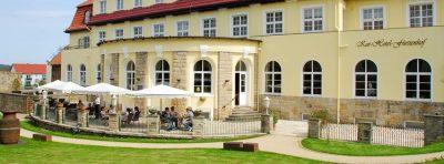Außenansicht Kurhotel Fürstenhof Blankenburg